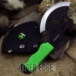 AXE HATCHET Z-Hunter Zombie Green Tactical Hunting Camping Survival ZB-AXE4G